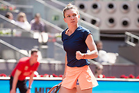 Romanian Simona Halep during Mutua Madrid Open Tennis 2017 at Caja Magica in Madrid, May 09, 2017. Spain.<br /> (ALTERPHOTOS/BorjaB.Hojas)