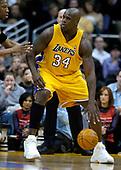 NBA-Minnesota Timberwolves at Los Angeles Lakers-Jan 30, 2004