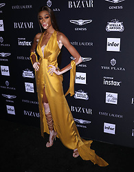 September 8, 2018 - New York City, New York, USA - 9/7/18.Winnie Harlow at the Harper''s Bazaar ICONS Party held at The Plaza Hotel in New York City..(NYC) (Credit Image: © Starmax/Newscom via ZUMA Press)