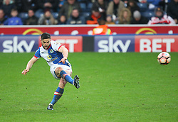 Craig Conway of Blackburn Rovers takes a free kick - Mandatory by-line: Jack Phillips/JMP - 28/01/2017 - FOOTBALL - Ewood Park - Blackburn, England - Blackburn Rovers v Blackpool - FA Cup Fourth Round