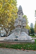 First World War Memorial in the Jardim da Avenida Sa da Bandeira Coimbra, Portugal