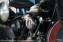 "Warren Lanes ""True Grit"" gathering of pre-1970's motorcycles at Destination Harley-Davidson during Daytona Beach Bike Week 2015. Ormond Beach, FL, USA. March 8, 2015.  Photography ©2015 Michael Lichter."