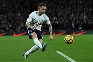 Kieran Trippier of Tottenham Hotspur in action. Premier league match, Tottenham Hotspur v Manchester Utd at Wembley Stadium in London on Wednesday 31st January 2018.<br /> pic by Steffan Bowen, Andrew Orchard sports photography.
