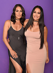LOS ANGELES - AUGUST 13: Nikki Bella and Brie Bella at FOX's 'Teen Choice 2017' at the Galen Center on August 13, 2017 in Los Angeles, California. (Photo by Frank Micelotta/FOX/PictureGroup)