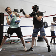 Boxing Gym Training at Sweet Z's Boxing Gym in Kansas City, KS, 66106.