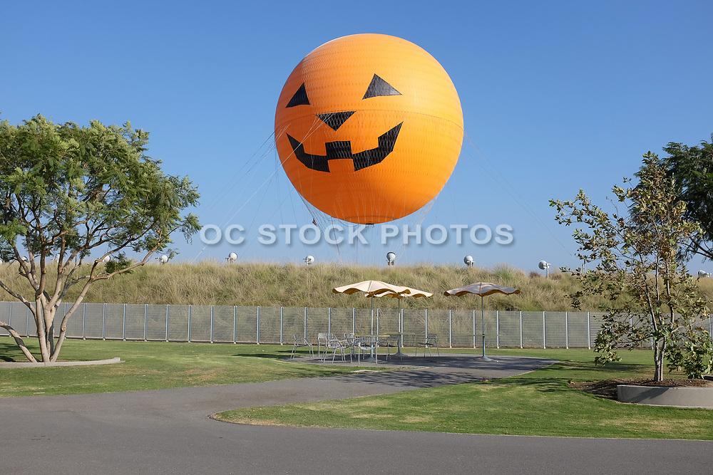 Orange County Great Park Balloon Ride Pumpkin Face