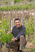 Alberic Mazoyer owner vineyard dom a voge cornas rhone france