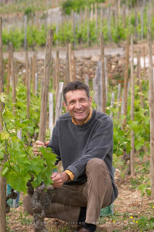 Alberic Mazoyer owner vineyard dom a voge cornas rhone france