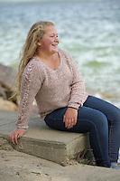Hannah senior portrait session.  ©2015 Karen Bobotas Photographer