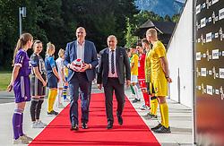 President of Slovenian National Union - Radenko Mijatovic during the draw for 1st. round of Slovenian National Leage 1 and 2 on 01.07.2021 on Brdo pri Kranju, Slovenia. Photo by Urban Meglič / Sportida