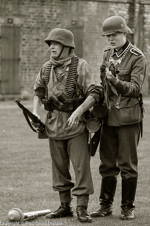 German Panzer Grenadier Easter front 1943 on and feldgendarmerie or 'Kettlehund' Nww2A Fort Paull<br /> <br />  Copyright Paul David Drabble<br /> 5th & 6th May 2019<br />  www.pauldaviddrabble.co.uk