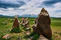 Armenie, region de Syunik, site megalithique de Zorats Karer, ancien observatoire // Armenia, Syunik province, prehistoric archeological site of Zorats Karer, old observatory