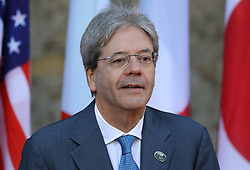 27.05.2017, Taormina, ITA, 43. G7 Gipfel in Taormina, im Bild Italiens Premierminister Paolo Gentiloni // Italy's Prime Minister Paolo Gentiloni during the 43rd G7 summit in Taormina, Italy on 2017/05/27. EXPA Pictures © 2017, PhotoCredit: EXPA/ SM<br /> <br /> *****ATTENTION - OUT of GER*****