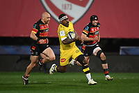 Rugby Union - 2020 / 2021 European Rugby Heineken Champions Cup - Round of 16 - Gloucester vs La Rochelle - Kingsholm<br /> <br /> La Rochelle's Levani Botia in action during this evening's game.<br /> <br /> COLORSPORT/ASHLEY WESTERN