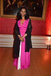 Zeinab Badawi at the Tusk Ball at Kensington Palace, London, England. 09 May 2019.