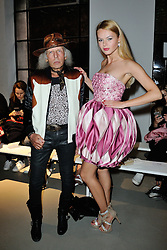 James Goldstein and guest arriving at the Veronique Leroy show as a part of Paris Fashion Week Ready to Wear Spring/Summer 2017 in Paris, France on September 30, 2016. Photo by Aurore Marechal/ABACAPRESS.COM