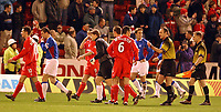 Fotball: Aberdeen v Rangers, Scottish Premier League. Pittodrie. Saturday January 19th.  2002.<br />