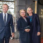 NLD/Amsterdam/20190916 - Prinses Irene viert verjaardag bij een ode aan de natuur , Albert Brenninkmeijer met zijn moeder Maria Brenninkmeijer