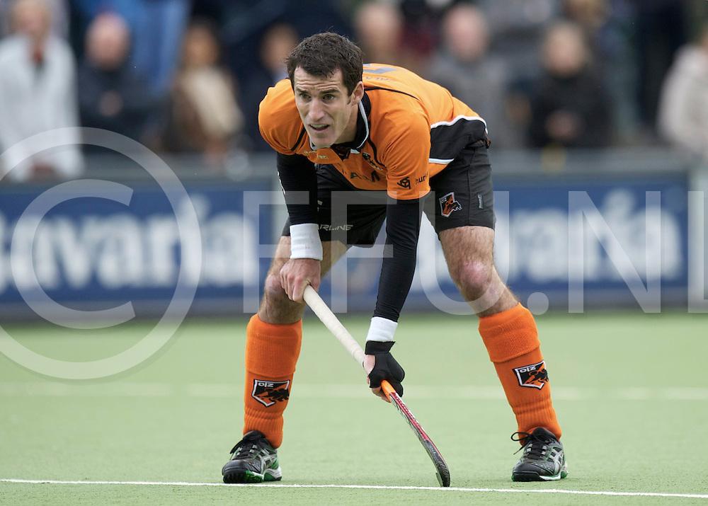 EINDHOVEN - Oranje Zwart- Schaerweijde<br /> Hoofdklasse mannen<br /> Foto: Marcel Blankenstein stopper.<br /> FFU PRESS AGENCY COPYRIGHT FRANK UIJLENBROEK