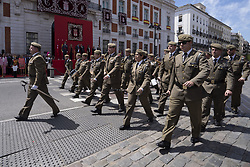 May 2, 2019 - Madrid, Spain - Parade  Civic military on the occasion of the Community of Madrid party n2 de Mayo at Real Casa de Correos in Madrid on 02 May 2019 spain  (Credit Image: © Oscar Gonzalez/NurPhoto via ZUMA Press)
