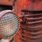 Rusted Headlight - Pottsville - Merlin, Oregon - Lensbaby