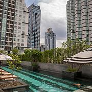 THA/Pattaya/20180722 - Vakantie Thailand 2018, Pattaya, hotelzwembad