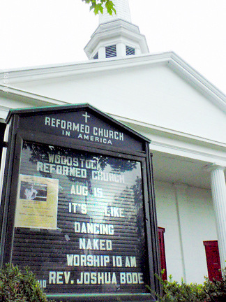 """about photo: town church sign bulletin<br /> <br /> Woodstock,NY """" colony of the arts"""" by Star Nigro.<br /> <br /> This small town is considered one of the most famous towns with a rich history.<br /> <br /> Born and raised in Woodstock, NY, I have been greatly influenced unknowingly as a photographer/ artist surrounded by artists & musicians.<br />  <br /> The elder historians of the community have sparked my intrigue to share this unique towns people, local scenes & way of life.<br /> <br /> <br /> photo by Star Nigro<br /> <br /> ©2021 All artwork is the property of STAR NIGRO.  Reproduction is strictly prohibited.<br /> <br /> starnigro.com"""