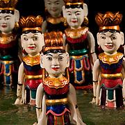 Dancing fairy Vietnamese water puppets (Hanoi, Vietnam - Nov. 2008) (Image ID: 081113-1531171a)