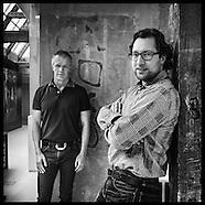 Dinesh Sonak (ADCN) en Lode Schaeffer (INDIE Amsterdam)