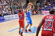 DESCRIZIONE : Campionato 2014/15 Dinamo Banco di Sardegna Sassari - Olimpia EA7 Emporio Armani Milano Playoff Semifinale Gara6<br /> GIOCATORE : Brian Sacchetti<br /> CATEGORIA : Tiro Tre Punti Three Point<br /> SQUADRA : Dinamo Banco di Sardegna Sassari<br /> EVENTO : LegaBasket Serie A Beko 2014/2015 Playoff Semifinale Gara6<br /> GARA : Dinamo Banco di Sardegna Sassari - Olimpia EA7 Emporio Armani Milano Gara6<br /> DATA : 08/06/2015<br /> SPORT : Pallacanestro <br /> AUTORE : Agenzia Ciamillo-Castoria/L.Canu