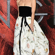 Leila George Arrivers at the Mortal Engines - World Premiere on 27 November 2018, London, UK