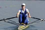2005 FISA Team Cup, Rio Guadalquiver Rowing Course, Seville, SPAIN; GBR W1X Frances Houghton at the start of the final.Photo  Peter Spurrier. .email images@intersport-images