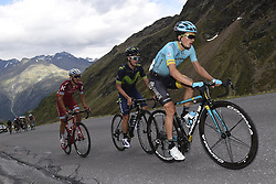 June 16, 2017 - Solden, Suisse - SOLDEN, AUSTRIA - JUNE 16 : BILBAO Pello of Astana Pro Team during stage 7 of the Tour de Suisse cycling race, a stage of 160 kms between Zernez and Solden on June 16, 2017 in Solden, Austria, 16/06/2017 (Credit Image: © Panoramic via ZUMA Press)