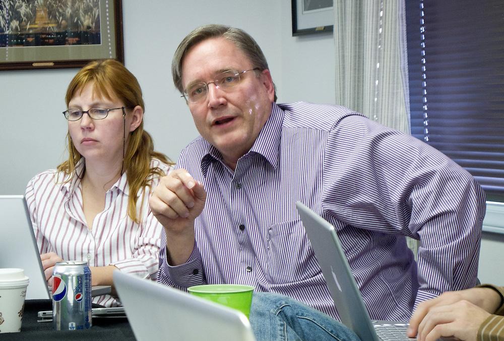 At the 2011 NPPA national board meeting.