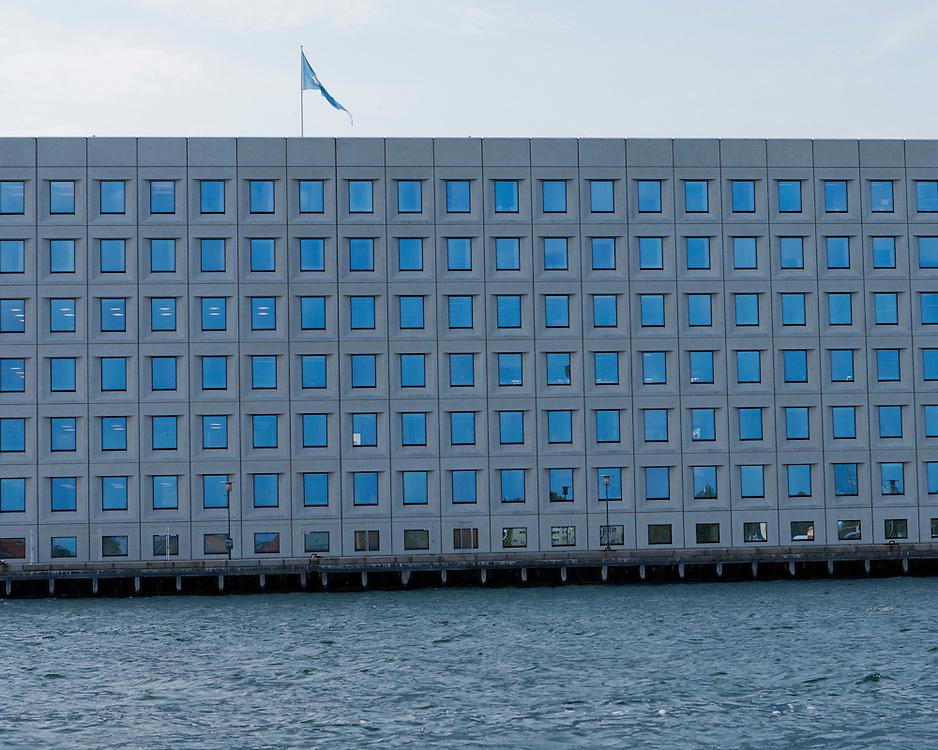 Maersk Headquarters Building in Copenhagen