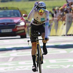 LIBOURNE (FRA) CYCLING: July 16<br /> 19th stage Tour de France Libourne- Saint-Émilion<br /> Jonas Vingegaard