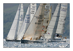 Bell Lawrie Scottish Series 2008. Fine North Easterly winds brought perfect racing conditions in this years event...GBR8930T, Shadowfax, Billy Forteith, Oban SC, First 31.7