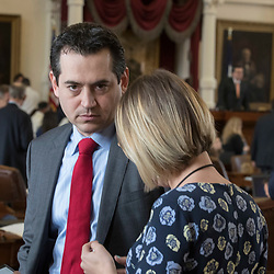 ormer State Rep. Matt Rinaldi, a Dallas lawyer, shown during his career at the Texas Capitol   in 2017 . Rinaldi will succeed Allen West as chair of the Republican Party of Texas. Rinaldi was involved in a shoving incident with another state representative on the House floor.  (Bob Daemmrich/CapitolPressPhoto)