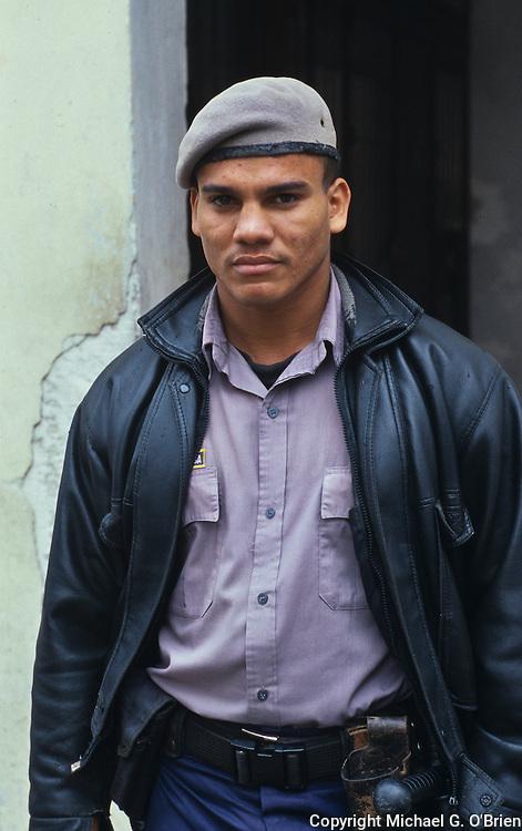 Police officer, Havana, Cuba