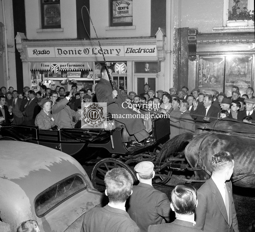 Taoiseach Sean Lemass in Killarney in the 1960's..Picture by Donal MacMonagle