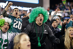 Philadelphia Eagles fans react in the stands during the NFL NFC Championship game between The Minnesota Vikings and The Philadelphia Eagles at Lincoln Financial Field in Philadelphia on Sunday, January 21st 2018. (Brian Garfinkel/Philadelphia Eagles)