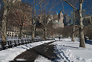 New York, Bowling green area in lower Manhattan,