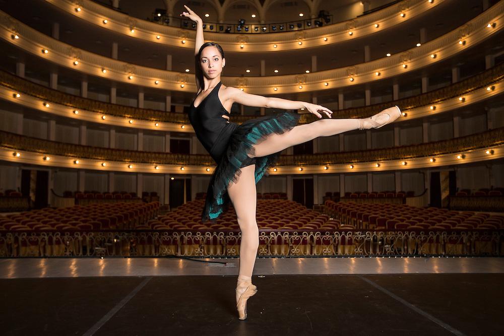 Claudia Garcia, member National Ballet of Cuba