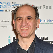 Armando Iannucci attends 2019 Writers' Guild Awards at Royal College of Physicians on 14 January 2019, London, UK