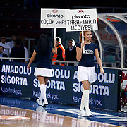 Anadolu Efes's and CSKA Moscow's during their Euroleague Top 16 basketball match Anadolu Efes between CSKA Moscow at the Abdi Ipekci Arena in Istanbul at Turkey on Thursday, March, 01, 2012. Photo by TURKPIX