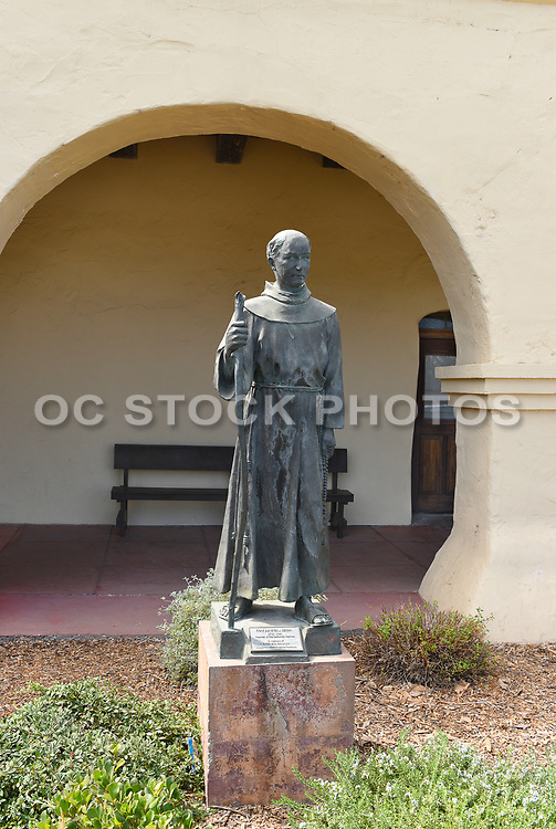 Junipero Serra Statue at Santa Ines Mission
