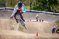 #343 (BRESCHAN Noah) SUI during practice of Round 3 at the 2018 UCI BMX Superscross World Cup in Papendal, The Netherlands