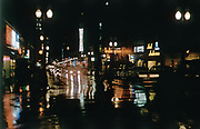 CS01113-10. SW Broadway at night January 1961