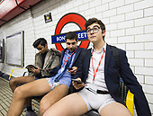 No Trousers on Tube Day 7th January 2018