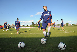 18.05.2012, Brezice, SLO, UEFA EURO 2012, Trainingscamp, Kroatien, 2. Trainingstag, im Bild Josip Simunic // during 2nd practice day of Croatian National Footballteam for preparation UEFA EURO 2012 at Brezice, Slovenia on 2012/05/18. EXPA Pictures © 2012, PhotoCredit: EXPA/ Pixsell/ Daniel Kasap....***** ATTENTION - OUT OF CRO, SRB, MAZ, BIH and POL *****